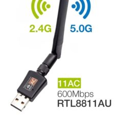 Dual Band USB Adapter RTL8811AU