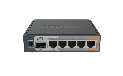 MikroTik RouterBOARD hEX S (760iGS) usmerjevalnik 5xRJ45