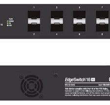 Ubiquiti upravljivo stikalo EdgeSwitch ES-16-XG
