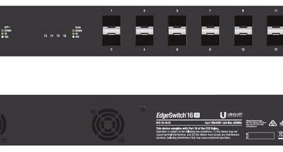 EdgeSwitch ES-16-XG Ubiquiti upravljivo stikalo
