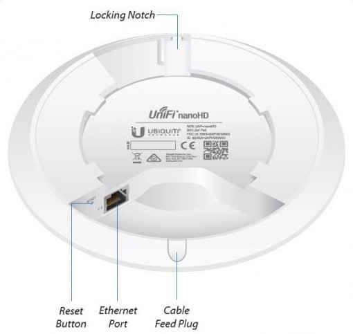 Ubiquiti Dual Band dostopna točka UAP-nanoHD (5 pack)